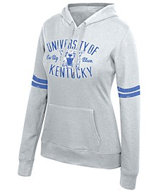 Women's Kentucky Wildcats Sleeve Stripe Hooded Sweatshirt