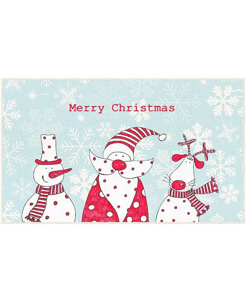 """Mohawk Christmas Friends Accent Rug, 18"""" x 30"""""""