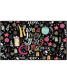 "Jolly Christmas Accent Rug, 24"" x 40"""