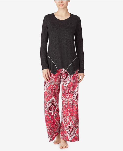 Ellen Tracy Palazzo Pant Pajamas Set, Online Only