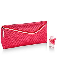 Receive a FREE Mini La Vie Est Belle En Rose and Clutch Pouch with any $125 La Vie Est Belle Purchase
