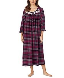 Cotton Venise Lace Ballet Nightgown