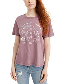Juniors' Cotton Planet Graphic T-Shirt