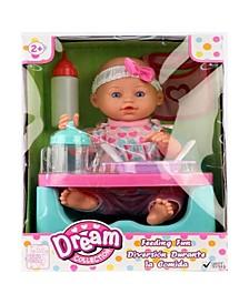 """14"""" Baby Doll Feeding Fun Set"""