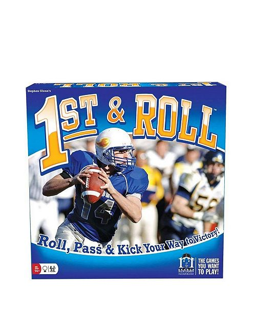 R&R Games 1st Roll Football Dice Rolling Board Game