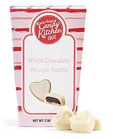 White Chocolate Mousse Hearts