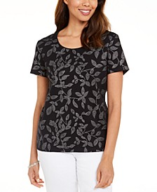 Embellished Vine T-Shirt, Created for Macy's