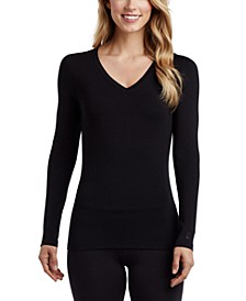 Softwear Stretch Long Sleeve V-Neck Top