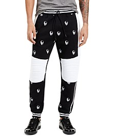 INC Men's Skull Jogger Pants, Created for Macy's