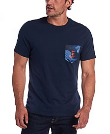 Men's Ocean Camo Pocket T-Shirt