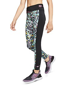 Big Girls One Dri-FIT Colorblocked Tights