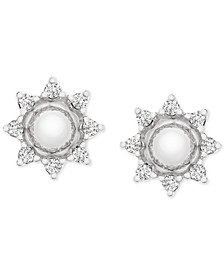 Diamond Star Earring Jackets (1/6 ct. t.w.) in 14k White Gold