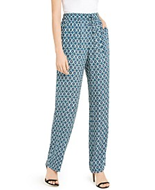 Zuma Printed Pull-On Pants