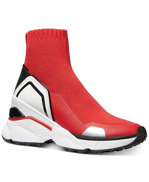 Michael Kors Mickey Wedge Sneakers
