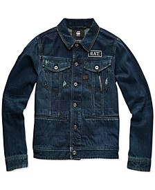 Men's Slim-Fit Denim Jacket, Created for Macy's