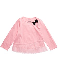 Baby Girls Tulle-Hem Top, Created For Macy's
