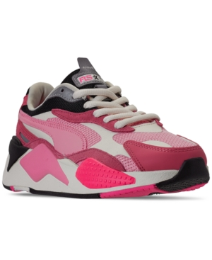 Puma Platforms WOMEN'S RS-X3 PUZZLE CASUAL SNEAKERS FROM FINISH LINE