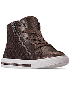 Little Girls JFAVERIT High Top Casual Sneakers from Finish Line
