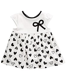 Toddler Girls Cotton Bow Heart Tunic, Created For Macy's