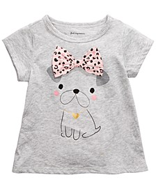 Toddler Girls Dog Bow T-Shirt, Created For Macy's