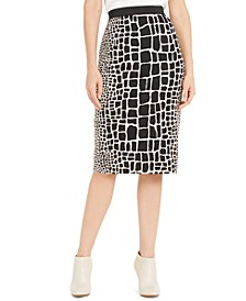 Printed Scuba Skirt, Created for Macy's