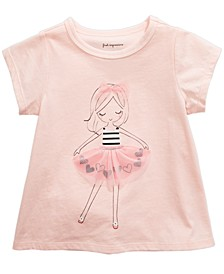 Baby Girls Tutu Girl T-Shirt, Created For Macy's