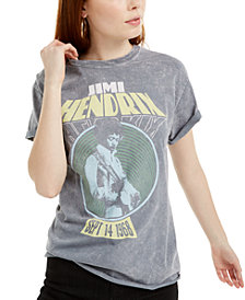 True Vintage Jimi Hendrix-Graphic Cotton T-Shirt