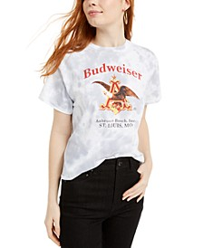 Tie-Dye Budweiser-Graphic T-Shirt