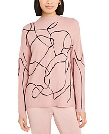 Printed Sweater, Created For Macy's