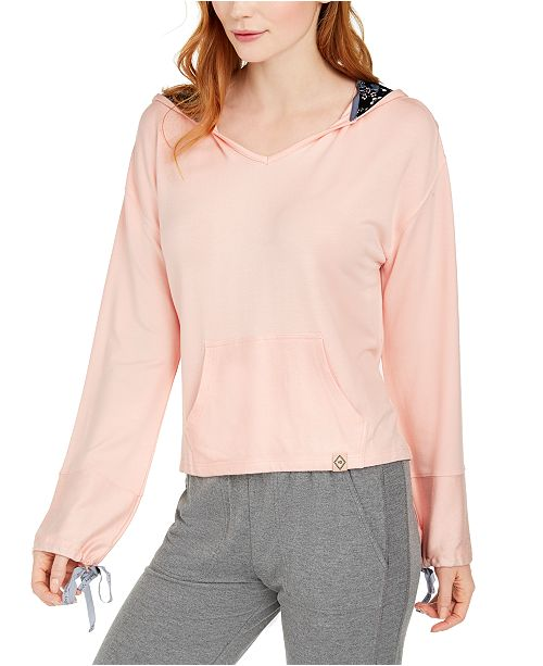Vera Bradley Cropped French Terry Sleep Hoodie, Online Only