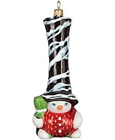 Glitterazzi Chocolate Covered Strawberry Gnome Snowman
