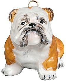 Bulldog - White wth Brown Markings