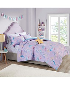 Merry the Mermaid 5-Pc. Twin Comforter Set