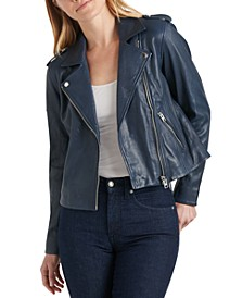 Core Leather Moto Jacket