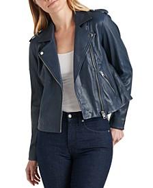 Core Leather Moto Jacket