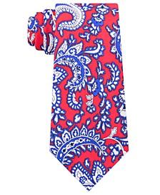 Men's Central Paisley Silk Tie