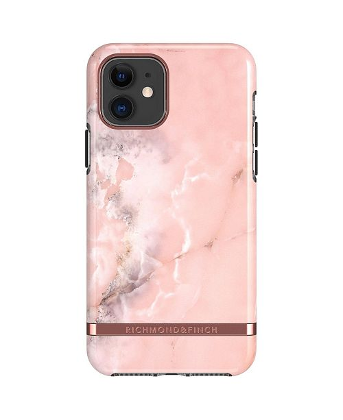 Richmond&Finch Pink Marble case for iPhone 11