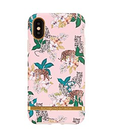 Pink Tiger Case for iPhone X and Xs