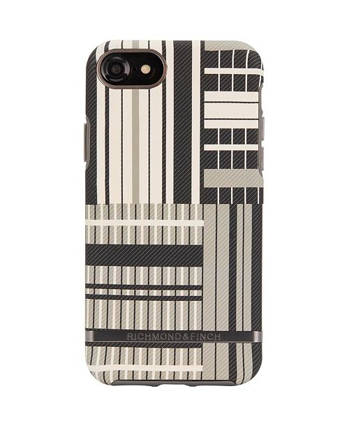 Richmond&Finch Platinum Stripes Case for iPhone 6/6s, 7 and 8
