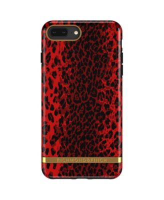 Red Leopard Case for iPhone 6/6s PLUS, 7 PLUS and 8 PLUS