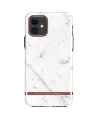 White Marble Case for iPhone 11