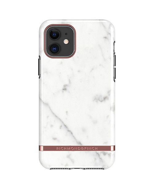 Richmond&Finch White Marble Case for iPhone 11