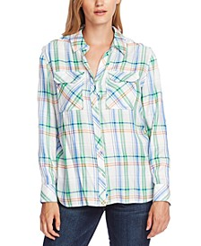 Plaid Relaxed Shirt