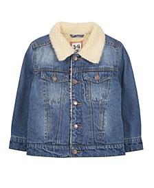 Little Boys Jessie Denim Sherpa Jacket