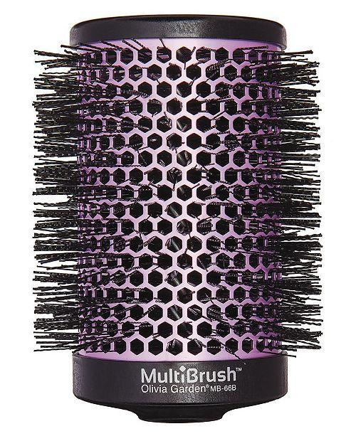 "Olivia Garden Detachable Thermal Styling MB-66B Hair Brush, 2.5"" Barrel"