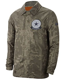 Men's Dallas Cowboys Salute to Service Light Weight Jacket