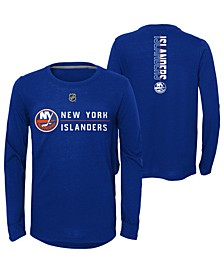 Big Boys New York Islanders Deliver Long Sleeve T-Shirt