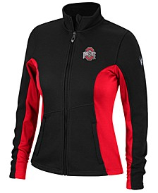 Spyder Women's Ohio State Buckeyes Constant Full-Zip Sweater Jacket