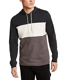 SUN + STONE Men's Colorblocked Hoodie, Created For Macy's