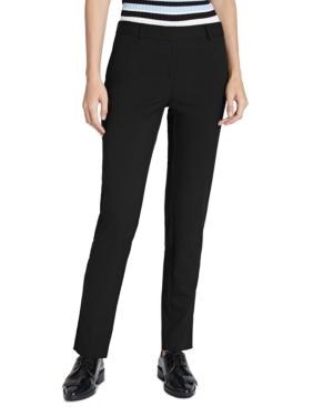 Jones New York Compression Pull-on Pants In Black